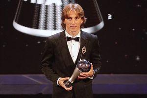 Đánh bại Salah và Ronaldo, Luka Modric giành giải 'The Best'