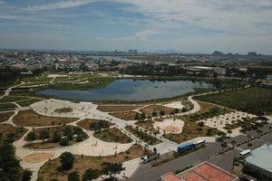 Flycam: Toàn cảnh công viên 50 tỉ bị bỏ hoang ở Đà Nẵng
