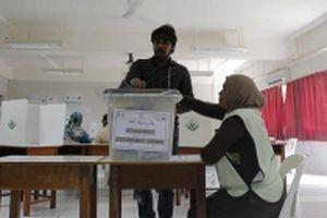 Kết quả sơ bộ bầu tổng thống ở Maldives