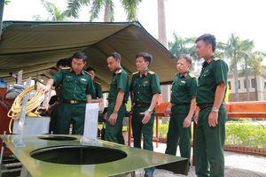 Tạo chuyển biến tiến bộ toàn diện công tác huấn luyện chuyên ngành công binh