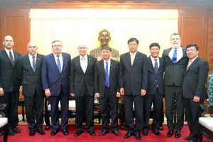 Đoàn đại biểu cấp cao Viện Kiểm sát Tối cao Hungary thăm Đà Nẵng