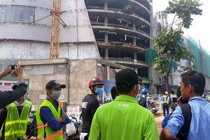 TP HCM: Đình chỉ thi công dự án có 3 công nhân bị tai nạn