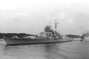 Bí mật về chiến hạm lớn nhất của Đức quốc xã