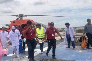 BV Chợ Rẫy Phnôm Pênh: Nhận bệnh nhân cấp cứu đến bằng trực thăng
