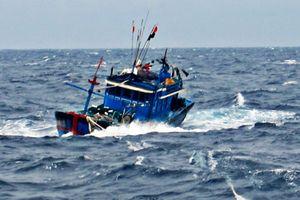 Tìm kiếm tàu cá và 6 ngư dân mất liên lạc gần quần đảo Hoàng Sa