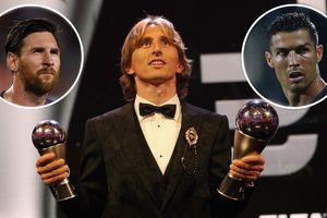 Chia sẻ cảm động của Modric sau khi trở thành 'The Best' của FIFA