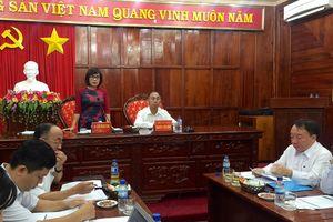 Thứ trưởng Đặng Hoàng Oanh làm việc tại Bình Phước: 'Tăng cường các giải pháp tháo gỡ khó khăn cho doanh nghiệp'