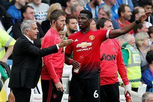 Pogba 'bật lại' HLV Mourinho