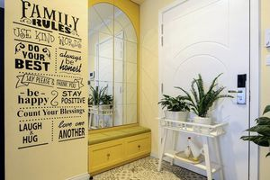 Cách thiết kế tiền sảnh căn hộ nhỏ vừa sang lại đẹp