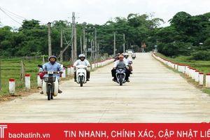 Làm đường giao thông, Kim Lộc không chần chừ!
