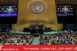Bên trong phòng họp Đại hội đồng Liên hợp quốc