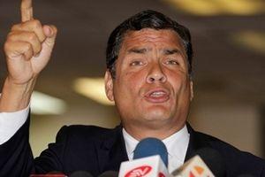 Tranh cãi về lệnh truy nã cựu Tổng thống Ecuador Rafael Correa