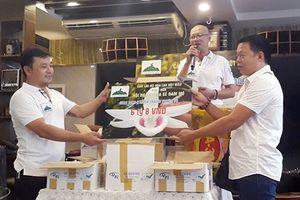 Một giò hoa lan được bán 6,8 tỉ cho CLB ở Đà Nẵng
