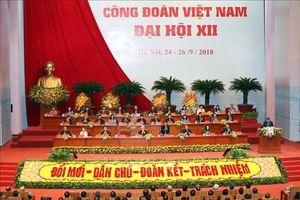Lãnh đạo Đảng, Nhà nước dự Đại hội Công đoàn Việt Nam lần thứ XII
