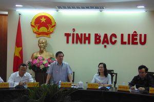Bộ trưởng Bộ GTVT: Sẽ tạo điều kiện thuận lợi nhất cho Bạc Liêu