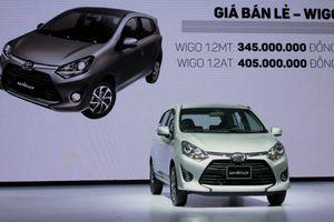 Cận cảnh Toyota Wigo bản cao nhất tại Việt Nam, giá 405 triệu đồng