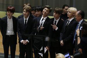 BTS làm rúng động toàn cầu với bài thuyết trình cảm xúc tại sự kiện 'Tuổi trẻ 2030' của Liên Hiệp Quốc