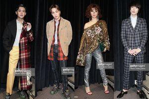 KAI (EXO), Hùng Tử Kỳ và 'mỹ nam Nhật' Kentaro Sakaguchi tham dự Paris Fashion Week 2018