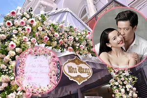 Hôn lễ Trường Giang - Nhã Phương: Nhà gái tràn ngập hoa hồng, không gian đậm chất đám cưới cổ tích