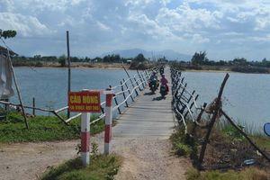 Dự án Cầu Hà Tân ở huyện Duy Xuyên, Quảng Nam: Đã 'lỗi hẹn' với bà con vùng rốn lũ?