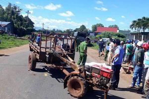 Đắk Lắk: Né được xe công nông mất lái, người đàn ông lại bị xe tải cán tử vong