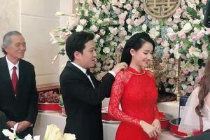 Clip Nhã Phương và Trường Giang rạng rỡ hạnh phúc bên nhau trong ngày cưới
