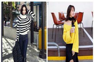 3 cách mặc áo len cực đẹp trong ngày lạnh