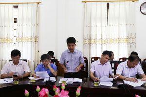 Chủ tịch UBND tỉnh Nguyễn Đình Xứng kiểm tra tiến độ thực hiện dự án tuyến đường giao thông ven biển
