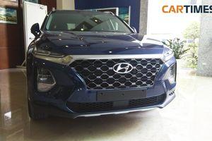Hyundai Santa Fe 2019 bất ngờ lộ diện tại Hà Nội, chờ đợi ra mắt