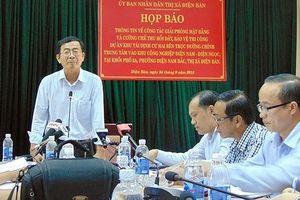 Cưỡng chế thu hồi đất xây dựng giao thông ở Điện Bàn, Quảng Nam