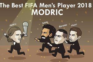 Biếm họa 24h: MXH 'náo loạn' về Modric, Ronaldo hụt FIFA The Best 2018