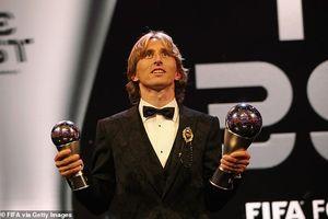 Lần thứ hai vượt mặt Ronaldo, Modric giành giải FIFA The Best