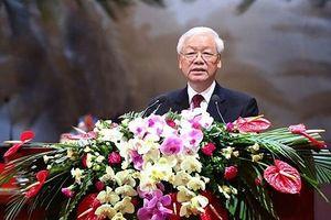 Tổng Bí thư gợi mở 4 vấn đề tại Đại hội Công đoàn Việt Nam lần thứ XII