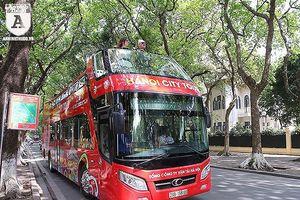 Hà Nội sẽ mở tuyến buýt hai tầng thoáng nóc số 02 vào ngày 10-10