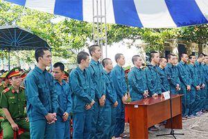 Xét xử 15 bị cáo 'gây rối trật tự công cộng' tại Bình Thuận