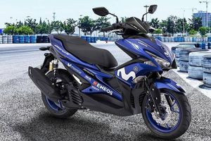Yamaha NVX 155 GP Edition 2018 có giá 2.600 USD tại Malaysia