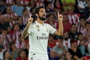 Isco lỡ những trận cầu quan trọng của Real Madrid vì viêm ruột thừa