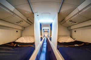 Soi phòng ngủ bí mật dành cho phi công trên máy bay