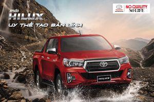 Bán tải Toyota Hilux mới tại Việt Nam có gì đặc biệt?