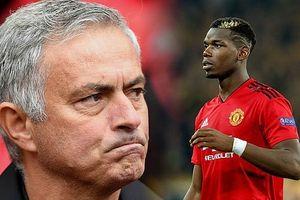 Jose Mourinho quyết định trừng phạt Paul Pogba