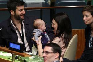 Lần đầu tiên Đại hội đồng LHQ có trẻ 3 tháng tuổi tham dự