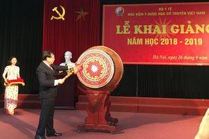 Học viện Y Dược học cổ truyền Việt Nam khai giảng năm học mới