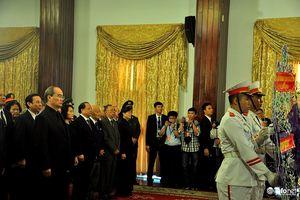 TP.HCM: Xúc động lễ viếng Chủ tịch nước Trần Đại Quang