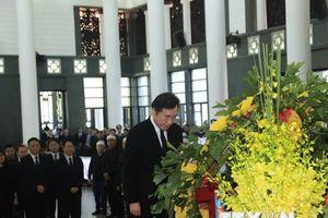 Thủ tướng Hàn Quốc Lee Nak-yon viếng Chủ tịch nước Trần Đại Quang