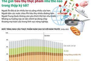 Thế giới tiêu thụ thực phẩm như thế nào trong thập kỷ tới?