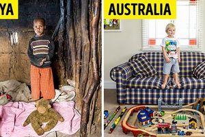 Nhiếp ảnh gia Italy đi khắp thế giới để chụp lại 'gia tài' của những đứa trẻ các nước