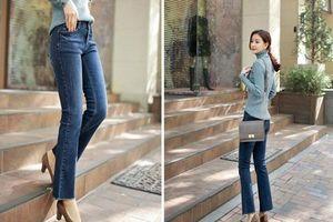 Bí quyết để quần jeans luôn mới chị em không thể bỏ qua