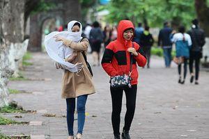 Không khí lạnh tràn về, nhiều vùng có mưa vừa đến mưa rất to