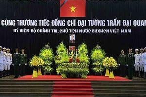 Tổ chức trọng thể Lễ viếng Chủ tịch nước Trần Đại Quang tại Hà Nội
