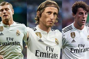Đội hình kết hợp giữa sức trẻ và kinh nghiệm của Real trước Sevilla
